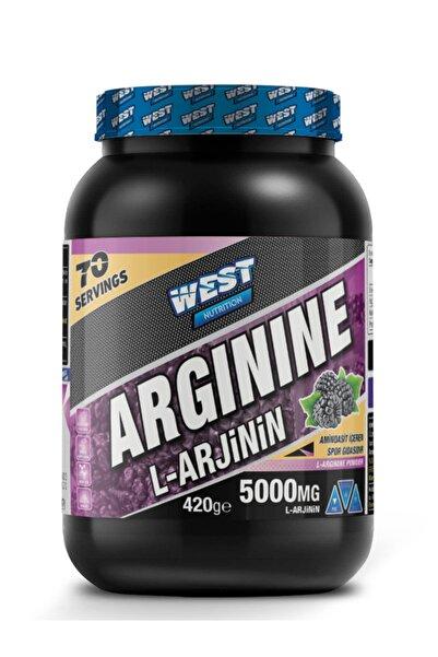 West Nutrition L-arginine ( Arjinin ) 420 Gr 70 Servis Böğürtlen Aromalı