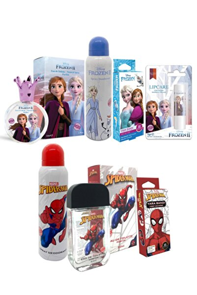 Frozen Spider Man Set