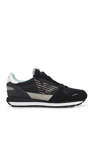 Emporio Armani Kadın Siyah Sneaker X3x058 Xm511 N114