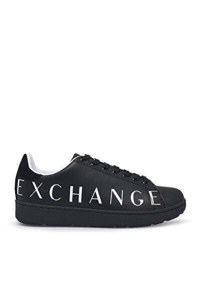 Armani Exchange Erkek Siyah Ayakkabı Xux084 Xcc65 00002