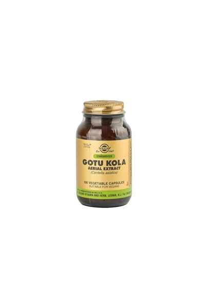 Solgar Gotu Kola Aerial Extract 10 Mg 100 Kapsül