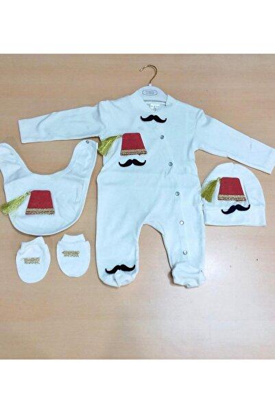Sönmez Baby Erkek Bebe Tulum  4'lü
