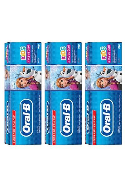 Oral-B Çocuk Diş Macunu Frozen 225 ml (75*3)