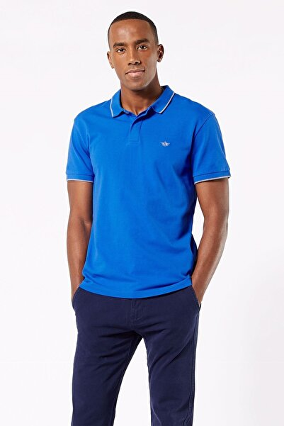 Dockers Erkek 360 Versatile Ss Polo Yaka T-shirt 86161-0029