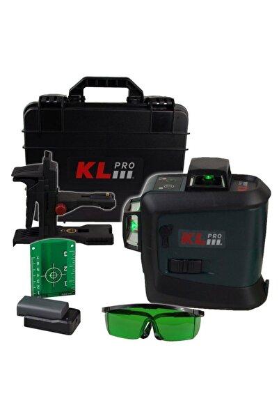 KLPRO Kllzr93gl Yeşil Çizgi Lazer Distomat 7.2v/2,6 Ah Li-ıon