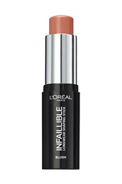 L'Oreal Paris Stick Allık Infaillible Shaping Stick Allık 002 Nude In Rose 3600523532940