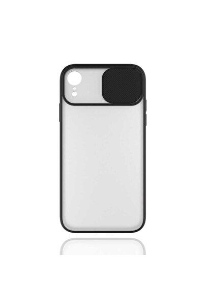 Apple Teleplus Iphone Xr Uyumlu Kılıf Lens Kamera Korumalı Silikon Siyah