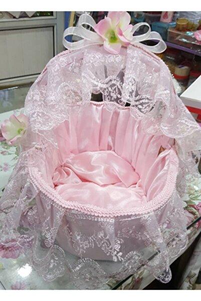 pink fiyonk Bebek Kapı Süsü & Sepet Takımı