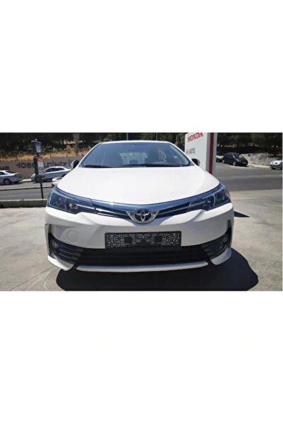Dynamic Toyota Corolla Ön Tampon Sis Nikelajı Kaplaması 2 Parça 2016-2018
