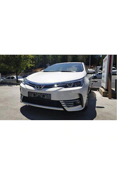 Dynamic Toyota Corolla Ön Tampon Sis Nikelajı Kaplaması 8 Parça (2016-201