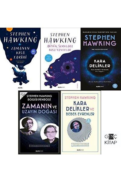 Alfa Yayınları Stephen Hawkıng 5 Kitap Set Büyük Sorulara Kısa Yanıtlar Zamanın Kısa Tarihi Kara Delikler