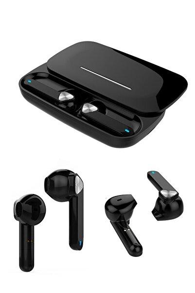 Escom Xiaomi Redmi K30 Uyumlu Yeni Nesil Siyah Kızaklı Bluetooth Kulaklık Bt 5.0