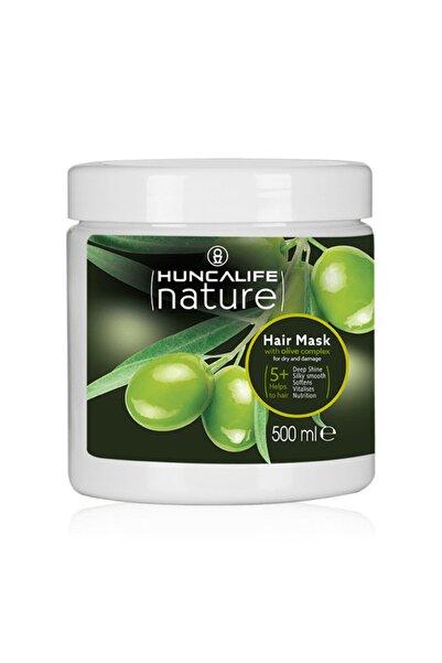 Huncalife Nature Zeytinyağlı Saç Bakım Maskesi 500 Ml - Saç Maskesi 27286