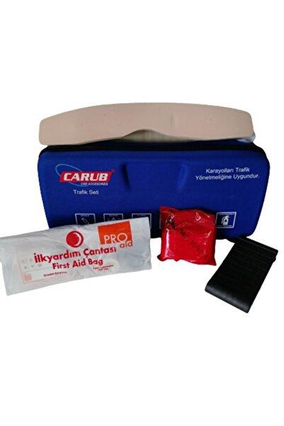 Carub Lüx Trafik Seti Çantalı Belgeli Trafik Yönetmeliğine Uygun