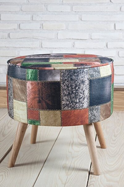 Monte Sehpa Patchwork Tk Puf