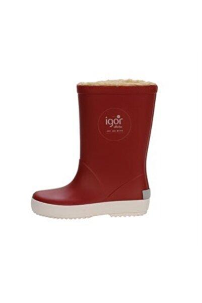 IGOR Kırmızı Splash Nautico Yağmur Çizmesi