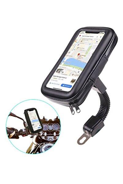 Favors Iphone 11, 11 Pro Motosiklet Telefon Tutucu Su Geçirmez Telefon Kılıfı