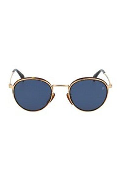 David Beckham Unisex Mavi Güneş Gözlüğü Db10033/s 2ıkku 49-23-145