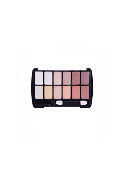 Gabrini Gabrını Eyeshadow Palette 12 Li No:1