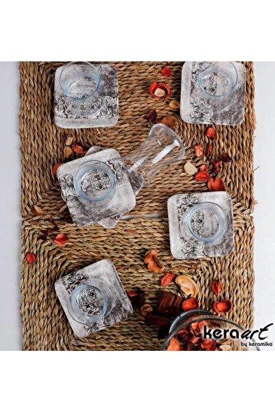Keramika 12 Parça 6 Kişilik Çay Takımı