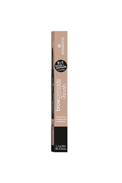 Essence Brow Pomade & Brush - Kaş Pomadı No: 01 Blonde 4059729271150
