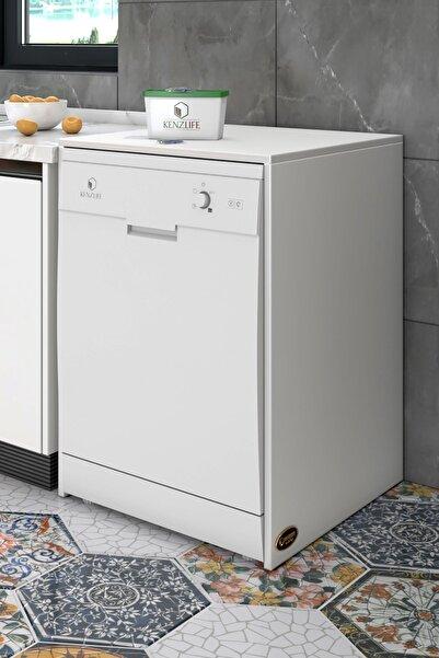 Kenzlife Bulaşık Makinesi Dolabı Berfu Byz 90*70*60 Banyo Ofis