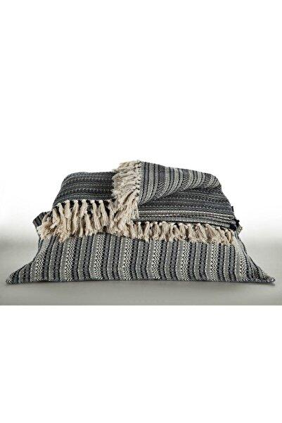 Doqu Home Çift Kişilik Pamuklu Yatak Örtüsü Siesta - Lacivert