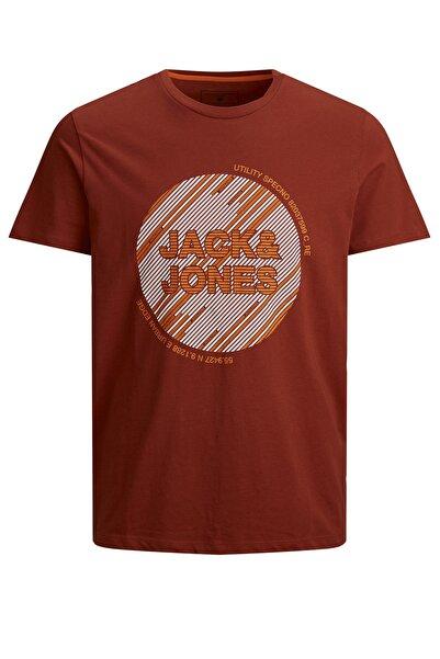 Jack & Jones Erkek Kırmızı Baskılı T-shirt Jcokopa Tee Ss - 12188031