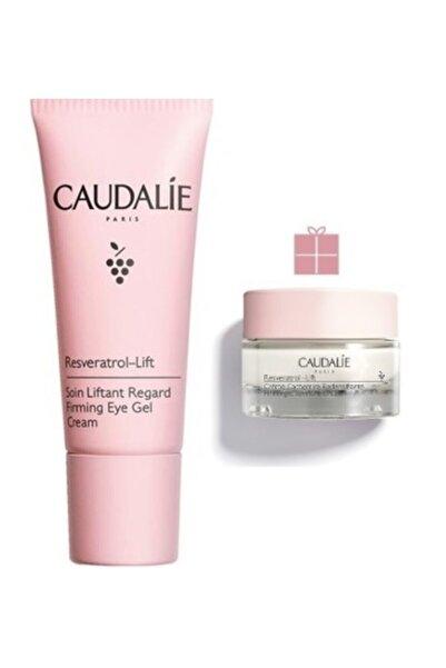 Caudalie Resveratrol Lift Firming Eye Gel Cream (göz Çevresi) 15 ml + Cashmere Cream 15 ml