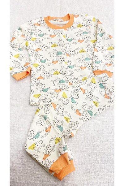 Melisa Çocuk Pijaması %100 Pamuk Önden Çıtçıtlı