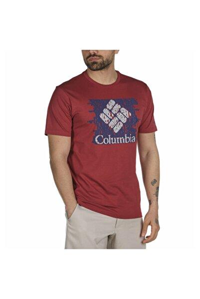 Columbia Erkek Bordo Statement Kısa Kollu Tişört Cs0116-678