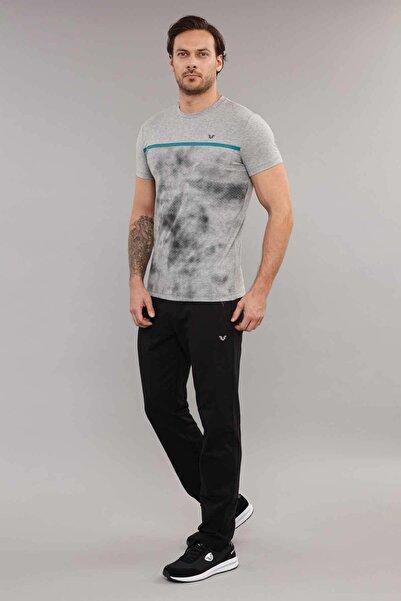 bilcee Gri Pamuklu Erkek T-Shirt ES-3871