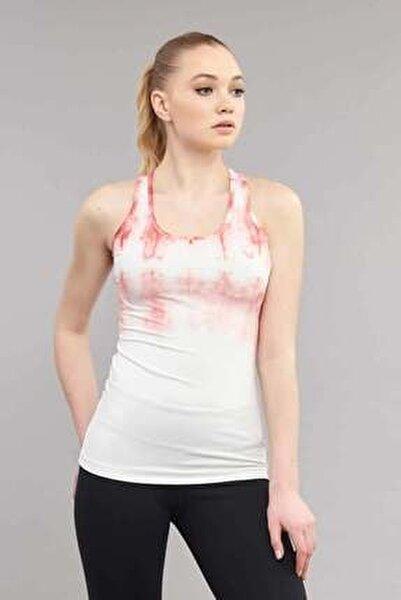 Beyaz Kadın Antrenman Atlet ES-3599