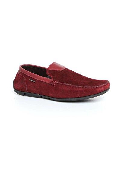 Cacharel C8021F-5 Bordo Erkek Loafer Ayakkabı