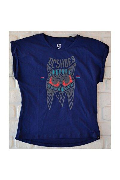 DC Kadın Owl Tee Blue Prt  Tişört