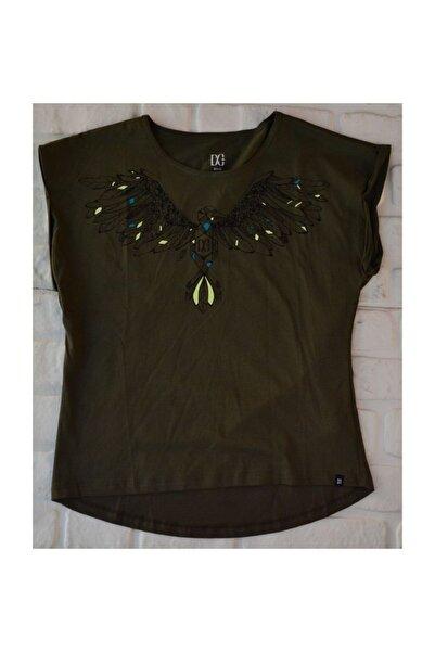 DC Kadın Haki Bird Tee Olive Nights Tişört