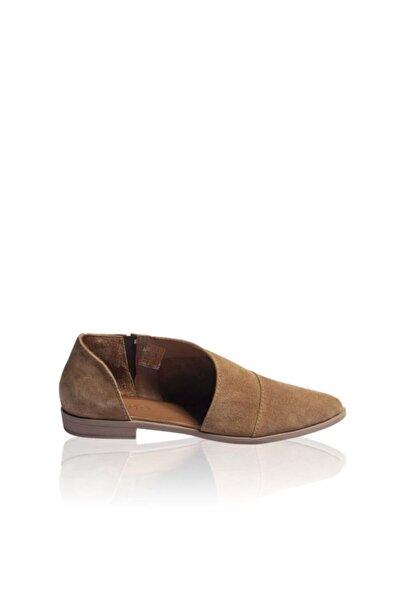 BUENO Shoes Kahve Yılan Kadın Ayakkabı 9n0145