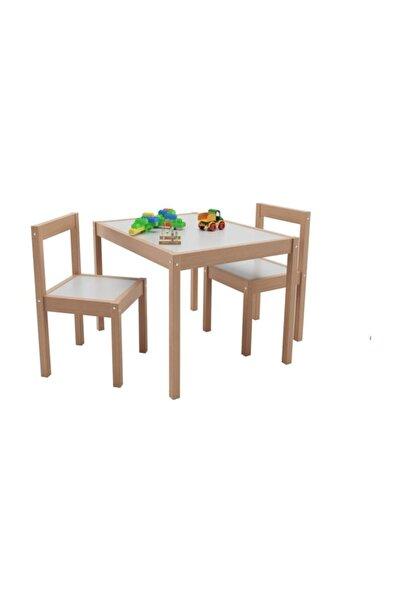 Bienwood Bie-6001 Ahşap Çocuk Masa Sandalye Takımı