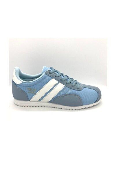 Lescon Mavi Bayan Spor Ayakkabı