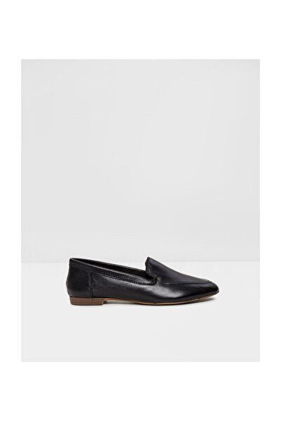 Aldo Kadın Siyah Deri Loafer Ayakkabı