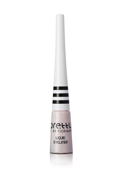 Flormar Siyah Eyeliner - Pretty By Flormar Liquid Eyeliner Black 3,5 ml 8690604461486