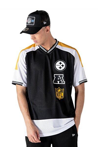 NEW ERA Nfl Pittsburg Steelers Stacked Logo Oversized T-shirt 12195316