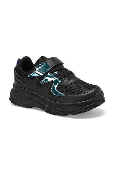 I COOL HOLLY Siyah Kız Çocuk Yürüyüş Ayakkabısı