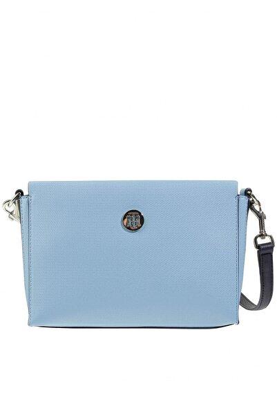 Calvin Klein Mavi Kadın Çapraz Askılı Çanta Aw0aw06306t