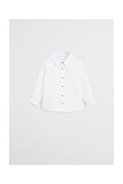 MANGO Baby Koton Oxford Gömlek