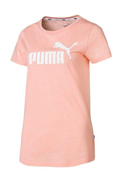 Puma Kadın T-shirt - ESS+ Logo Heather Tee - 85212719