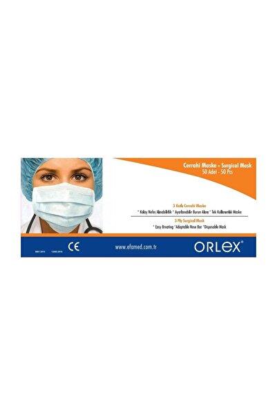 ® Cerrahi Maske-Burun Telli-Full Ultrasonic-Sertifikalı (Filtreli 3 Katlı)