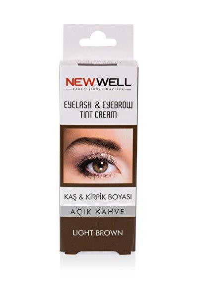 New Well Kaş & Kiprik Boyası - Açık kahve 8680923320939