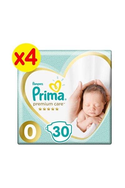 Prima Bebek Bezi Premium Care 0 Beden 120 Adet Prematüre 3'lü Paket
