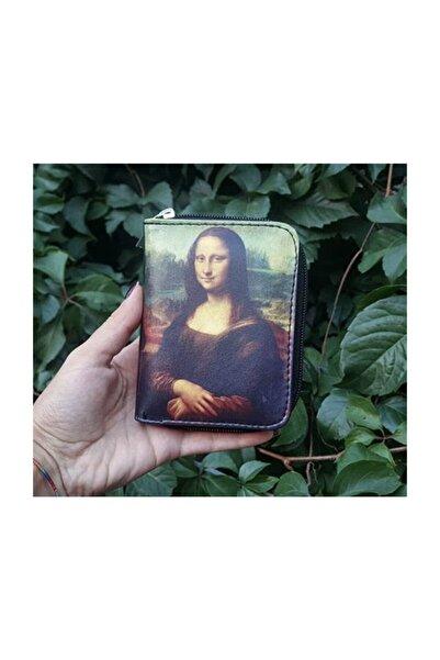 Köstebek Art - Leonardo Da Vinci-mona Lisa Portre Cüzdan
